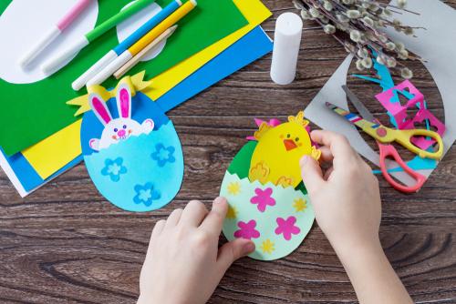 Manualidades De Pascua Para Hacer Con Niños Y Decorar Tu Casa Esta Semana Santa Press Tucasa Com